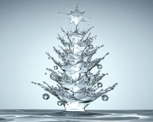 Albero Natale Acquatico